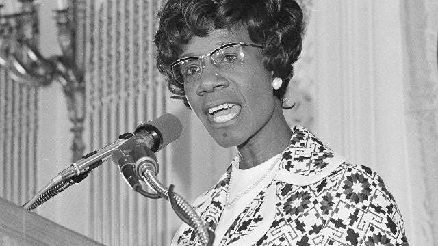 She was the first African-American woman elected to Congress, but Shirley Chisholm's  legacy extends far beyond the senate steps.