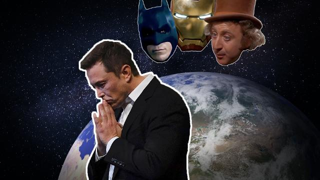 Elon Musk: Iron Man, Batman and a little Willy Wonka