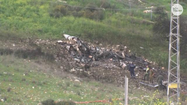 Israel downs Iranian drone, strikes Syria after F-16 jet crashes
