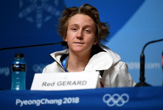 Red Gerard sees how big a deal the Olympics are after winning gold