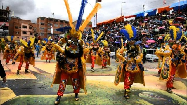 Bolivia holds largest annual Oruro carnival Video provided by AFP
