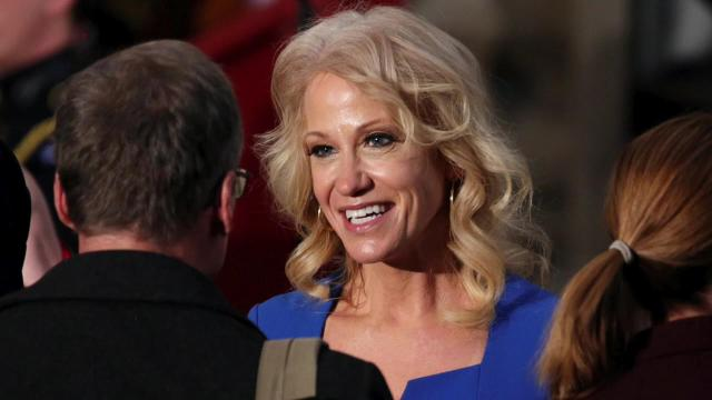 Kellyanne Conway says Trump's accusers 'have had their day'