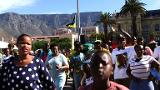 South Africans celebrate