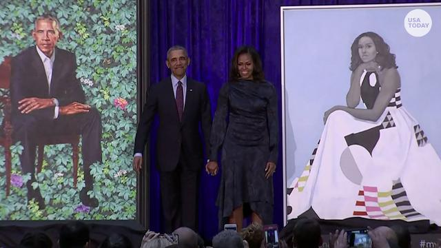The Obamas are officially works of art