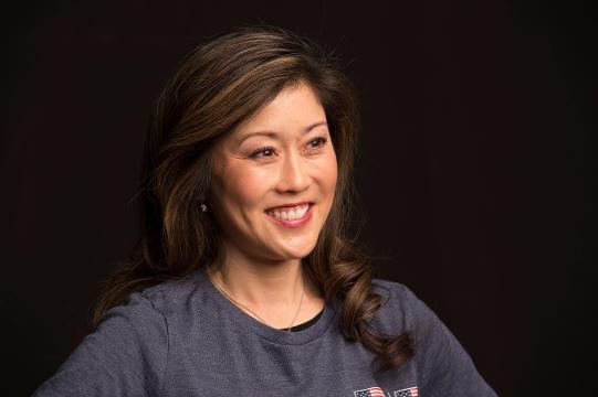 Kristi Yamaguchi first met husband at 1992 Olympics