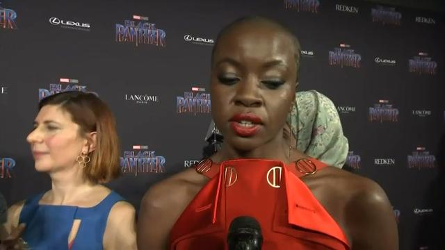 Nyong'o on 'Black Panther': 'People are claiming it for themselves'
