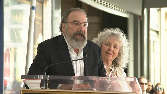 At Walk of Fame ceremony in Hollywood, veteran actor Mandy Patinkin makes pleas for inclusion. (Feb. 13)