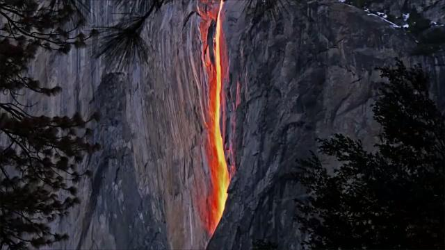 Yosemite's famous 'Firefall' has run dry because of drought