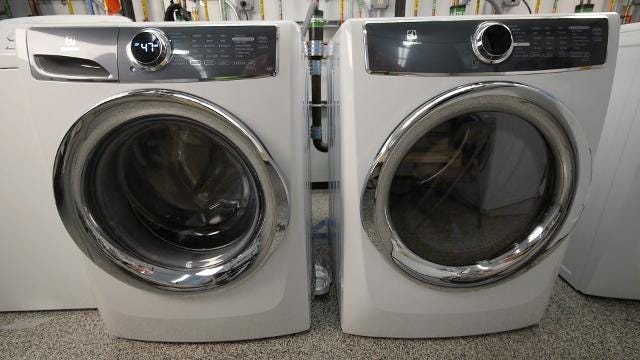 If you're in the market for a washer and dryer pair, these flagship models from Electrolux are the best you can get.