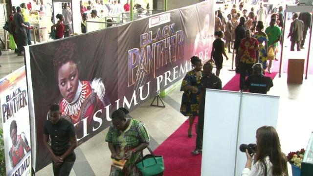 Kenya holds Black Panther premiere.