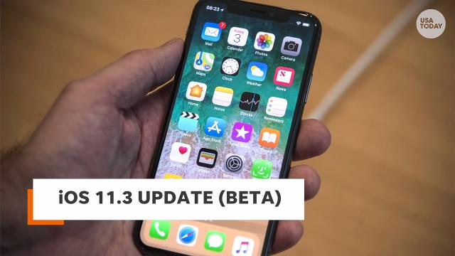 Battery fix: Ed Baig shows off the Battery Health feature that is part of the iOS 11.3 software update. It will let you disable a feature that enables Apple to slow down older iPhones with weakened batteries.