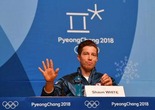 Shaun White: 'Here to talk about the Olympics, not gossip'