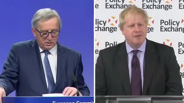 UK's Boris Johnson appeals for Brexit unity