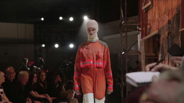 NYFW: Firefighter meets prairie at Calvin Klein show