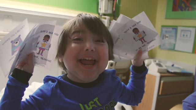 Viral post leads to thousands of Valentine's Day cards for kids