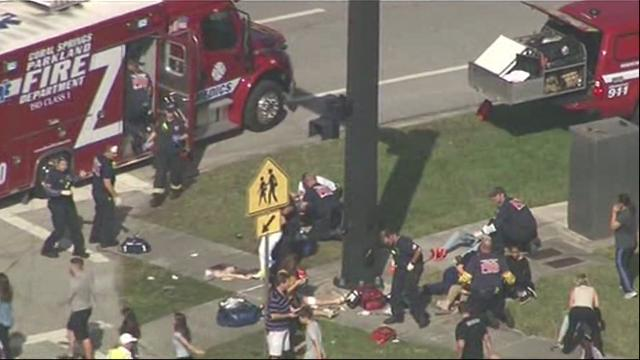 Several dead, many injured in mass shooting at Florida high school