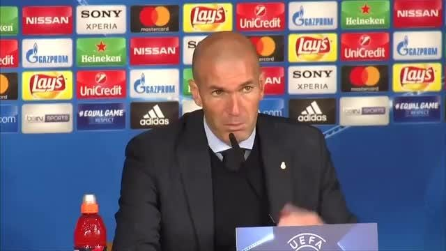 Real Madrid coach Zinedine Zidane warns progression in a tough tie with Paris Saint-Germain will require lots of focus in the return leg. Video provided by Reuters