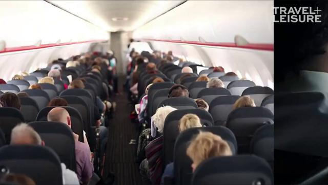 You should always go to the bathroom before boarding an aircraft.