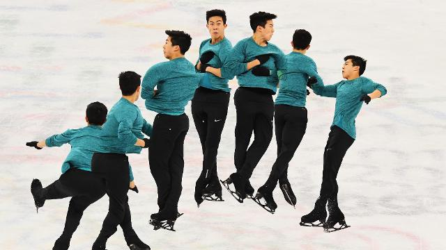 When asked what he's planning to do during his next competition, Nathan Chen's response was simple: be more in the moment.