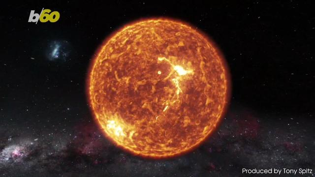 A solar storm is set to make contact with Earth today. Tony Spitz has the details.