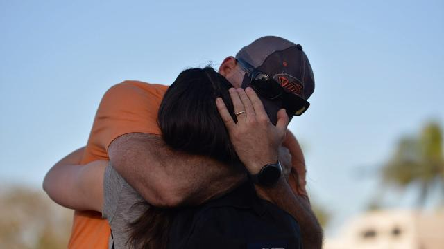 Florida school shooting fuels calls for #GunReformNow