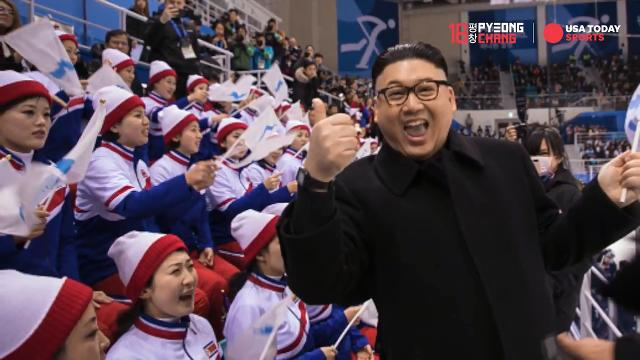 Meet the impersonator who's causing a stir with North Korea at the Winter Olympics.