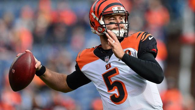Quarterback AJ McCarron has won his grievance against the Bengals and now enters the offseason as an unrestricted free agent.
