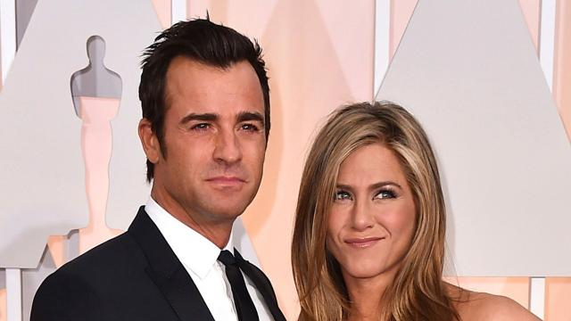 Actors Jennifer Aniston and Justin Theroux are separating after more than two years of marriage.