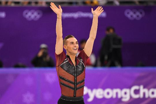 American figure skater Adam Rippon was inspired by fellow skater Ashley Wagner to share his story.