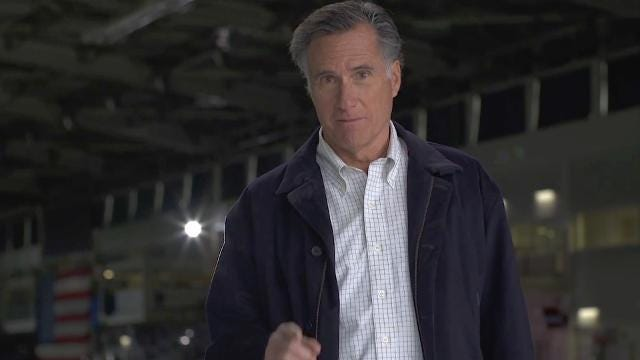 Mitt Romney announces U.S. Senate run from Utah in video ad