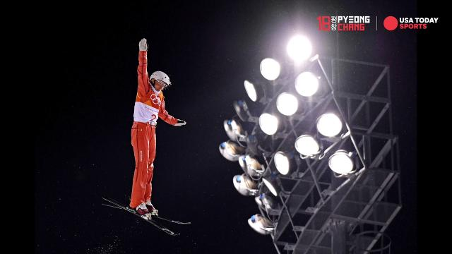 Check out some of the top images from the seventh day of the Pyeongchang Olympics.