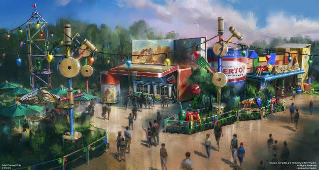 Disney announces Toy Story Land opening date