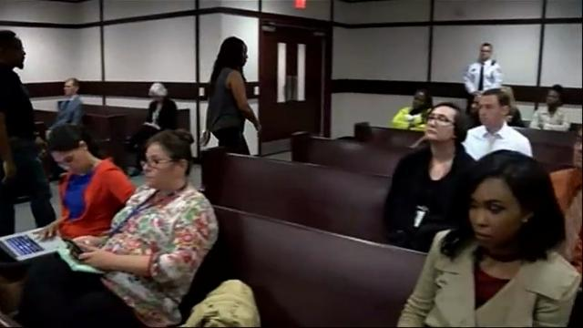 The parents of Howell Donaldson III, a suspect in the random shooting deaths of four people showed up late for a civil contempt hearing in Florida and have been placed on house arrest after refusing to cooperate with prosecutors. (Feb. 16)
