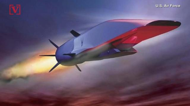 A $120 million hypersonic missile, it can strike anywhere in the world with speeds of 3,800 mph. The U.S. wants to apply for funding to develop the technology to built these weapons. Veuer's Nick Cardona has that story.