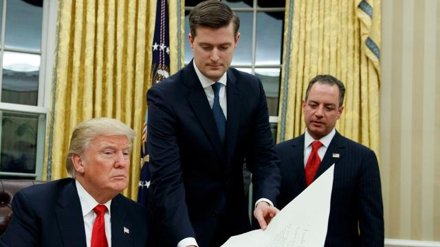 Changes in how White House security clearance investigations are conducted are now up to the FBI and intelligence agencies.