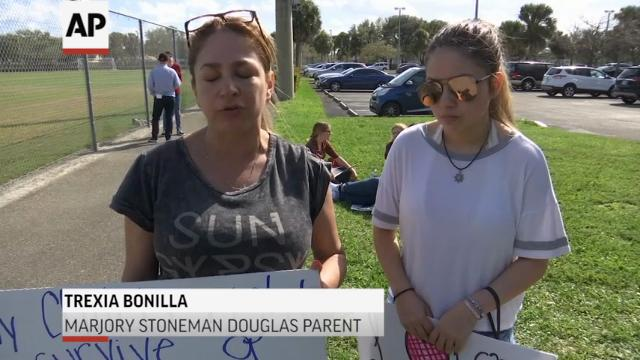 Florida Shooting Survivors Protest NRA