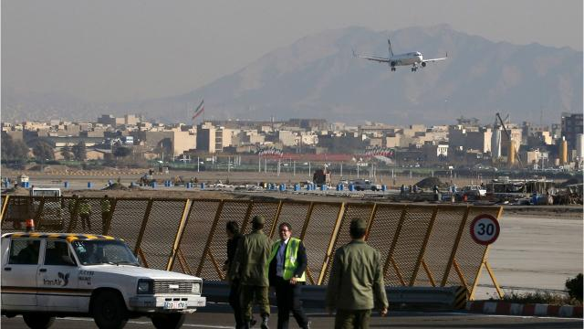 Passengers, crew feared dead after plane crash in Iran