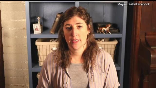 Actress Mayim Bialik is going after the NRA, calling for civil disobedience in the wake of the Florida school shooting.