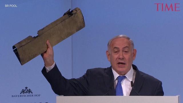 Israel's Prime Minister Benjamin Netanyahu warns Iran