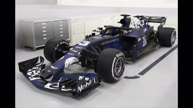 Red Bull give the first glimpse of their car for the 2018 Formula One season