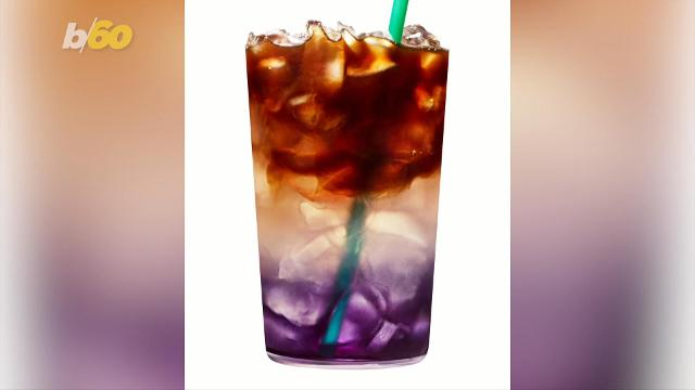 A new Starbucks coffee drink creates a swirl of colors, but it might be difficult to get your hands on one!