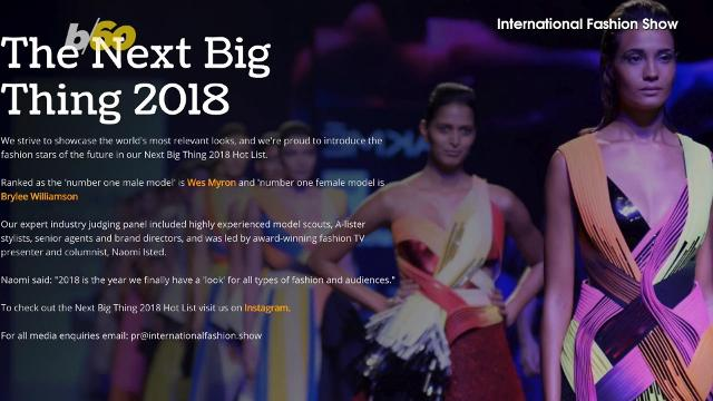 If you're trying to model in 2018, these days, being a social media influencer can be a big part of the job. Buzz60's Nathan Rousseau Smith has the scoop on the top 10 from the International Fashion Show's Next Big Things 2018.