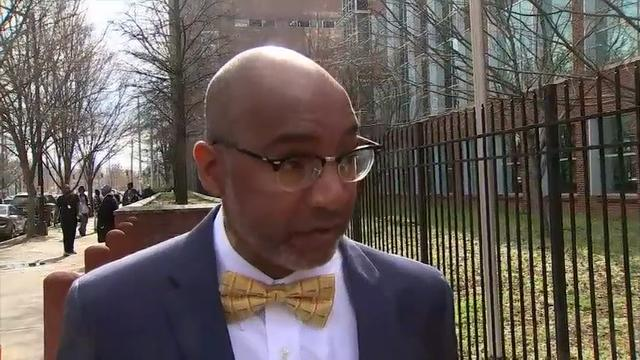 Atlanta police say Robert Bivines, a food delivery driver for UberEats accused of fatally shooting a customer is in custody. The victim was identified as 30-year-old Ryan Thornton. (Feb. 20)