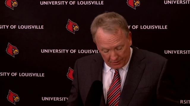 Louisville must vacate its 2013 men's basketball title following an NCAA decision to uphold sanctions against the men's program in the sex scandal case. The Cardinals will have to vacate 123 victories, and return some $600,000 in revenue. (Feb. 20)