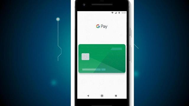 It's called Google Pay.
