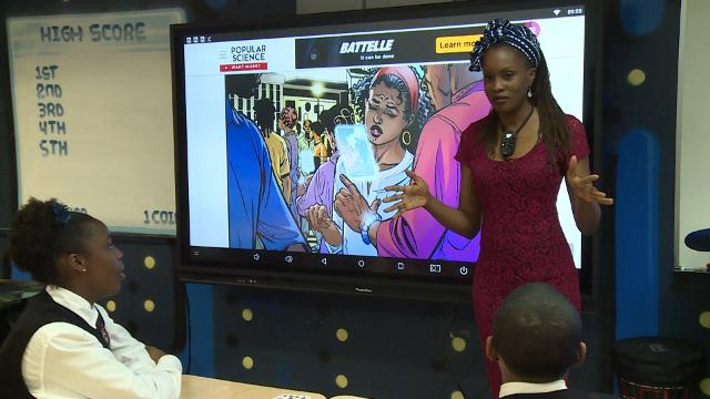 Marvel's 'Black Panther' is inspiring teachers and students at Ron Clark Academy in Atlanta.  Teachers are creating lessons to show that African ancestry doesn't only reflect poverty and pain.