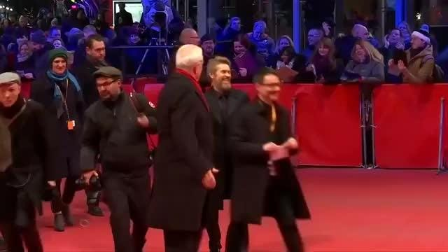 American actor Willem Dafoe presented with top prize at gala ceremony at the 68th Berlin Film Festival. Rough cut (no reporter narration) Video provided by Reuters