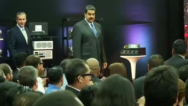 """President Nicolas Maduro has said Venezuela received $735 million in the first day of a pre-sale of the country's """"Petro"""" cryptocurrency. Maduro is hoping the Petro will help pull Venezuela out of an economic tailspin."""