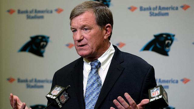 The Carolina Panthers have announced that Marty Hurney will be the teams general manager.