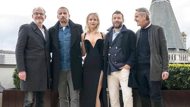Jennifer Lawrence slams critics of 'Red Sparrow' dress